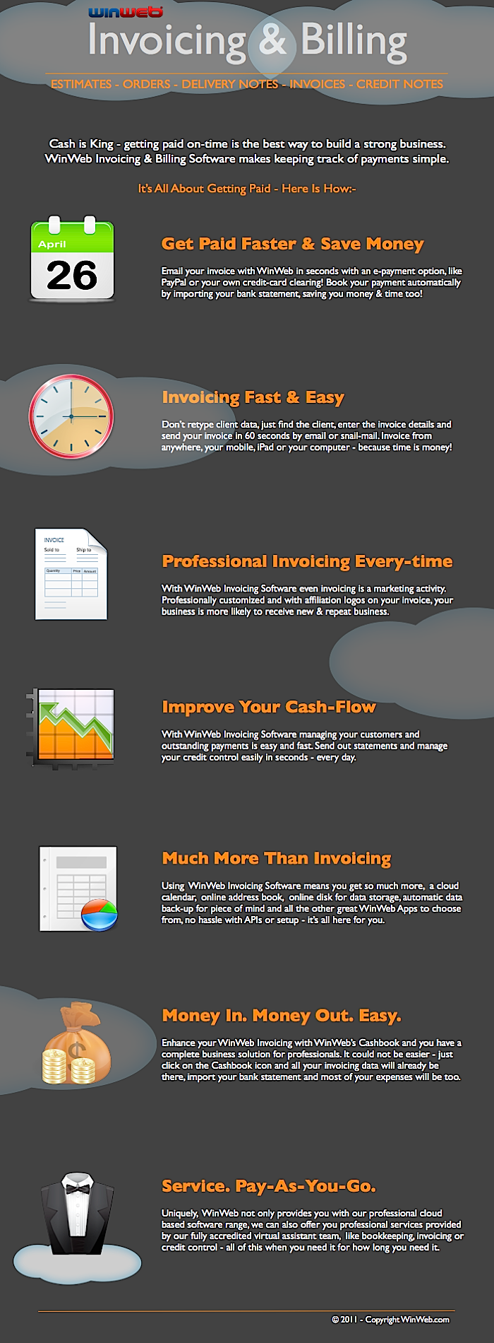 WinWeb | Professional Online Time Invoicing & Billing Software
